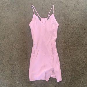 ASTR Slit Dress